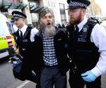 BRITAIN LONDON CLIMATE CHANGE PROTEST