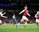 BRITAIN LONDON SOCCER UEFA EUROPA QUARTERFINAL ARSENAL VS CSKA MOSCOW