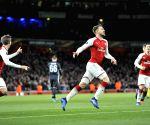BRITAIN LONDON SOCCER UEFA EUROPA QUARTERFINAL ARSENAL VS CSKA MOSCOW