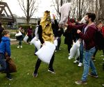 BRITAIN-LONDON-INTERNATIONAL PILLOW FIGHT DAY