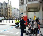 BRITAIN LONDON PARLIAMENT CAR CRASH