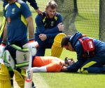 Warner meets net bowler who he struck on head