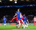 BRITAIN-LONDON-FOOTBALL-UEFA CHAMPIONS LEAGUE-CHELSEA VS ATLETICO MADRID