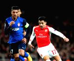 BRITAIN-LONDON-FOOTBALL-CHAMPIONS LEAGUE-ROUND OF 16 1ST LEG-ARSENAL VS