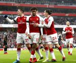 BRITAIN-LONDON-FOOTBALL-ARSENAL VS CRYSTAL PALACE