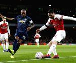 BRITAIN-LONDON-FOOTBALL-FA CUP-ARSENAL VS MAN UNITED