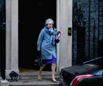 BRITAIN LONDON THERESA MAY