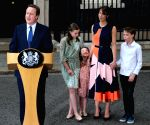 BRITAIN LONDON DAVID CAMERON RESIGNATION