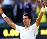 2014 Wimbledon Championships in Wimbledon - Novak Djokovic