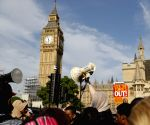 BRITAIN LONDON PROTEST