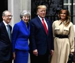 BRITAIN LONDON THERESA MAY U.S. DONALD TRUMP