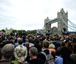 BRITAIN LONDON ATTACK MOURNING