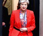 BRITAIN LONDON GENERAL ELECTION THERESA MAY