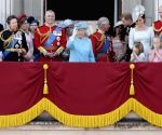 BRITAIN-LONDON-TROOPING THE COLOUR