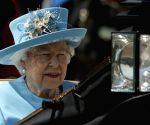 LONDON, June 9, 2018 (Xinhua) -- Britain's Queen Elizabeth II departs from Buckingham Palace during the Trooping the Colour ceremony to mark Queen Elizabeth II's 92nd birthday in London, Britain on June 9, 2018. (Xinhua/Tim Ireland/IANS)(Image Source: IANS News)