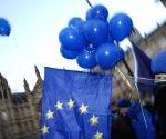 BRITAIN LONDON BREXIT DEAL VOTE DEMONSTRATION
