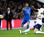 BRITAIN-LONDON-FRIENDLY SOCCER MATCH-ENGLAND VS ITALY