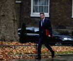 BRITAIN LONDON DEFENSE SECRETARY SACKING