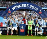 City thrash Watford 6-0 to complete historic treble