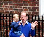 BRITAIN LONDON ROYAL BABY NEWBORN