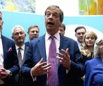 BRITAIN LONDON BREXIT PARTY NIGEL FARAGE