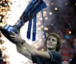Zverev beats Djokovic to win ATP Finals crown