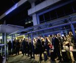 BRITAIN LONDON CITY AIRPORT EVACUATION REOPEN
