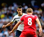 Barclays Premier League match between Liverpool and Tottenham Hotspu