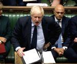 BRITAIN LONDON PARLIAMENT BREXIT VOTE