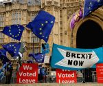 British parliament sits to discuss Brexit deal