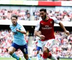 BRITAIN LONDON FOOTBALL PREMIER LEAGUE ARSENAL VS BOURNEMOUTH