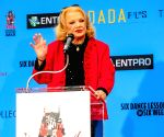 Los Angeles (United States): Actress Gena Rowlands attends her hand and footprint ceremony