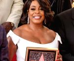 U.S.-LOS ANGELES-NIECY NASH-STAR DEDICATION CEREMONY