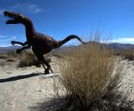 U.S. LOS ANGELES BORREGO SPRINGS SKY ART SCULPTURE