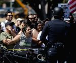 6 injured, 13 arrested in US protests