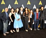 U.S.-LOS ANGELES-46TH STUDENT ACADEMY AWARDS-CHINESE STUDENT FILMMAKERS-WINNERS