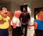 Los Angeles (US): Anil Kapoor dubs for Seth MacFarlane's 'Family Guy'