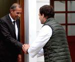 DS Hooda meets Congress President