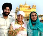 Kiran Bedi visits Golden Temple