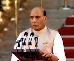 Rajnath Singh takes oath as Union Minister