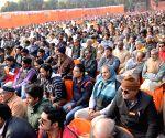 Praveen Togadia during 'Virat Hindu Sammelan'