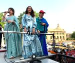 Sonakshi holds road show for mother in Lucknow