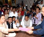 SP candidates file nomination for RS polls