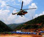 Earthquake rescue operation