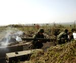 UKRAINE LUHANSK MILITARY TRAINING