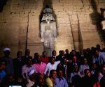 EGYPT LUXOR ANTIQUITY STATUE RESTORATION