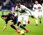 FRNACE PARIS FOOTBALL LIGUE 1 LYON VS PARIS SAINT GERMAIN