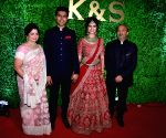 Wedding reception of lyricist Sameer Anjaan's daughter