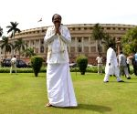 M Venkaiah Naidu at Parliament