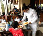 MP minister hosts 5-star lunch for underprivileged children